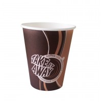 "Стакан бумажный ""Coffee take"" ""Лига""  250 мл, d 80, 1000 шт/ кор."