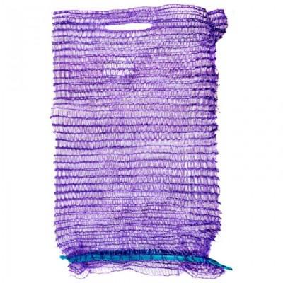 Сетка для овощей до 5 кг 25*39 фиолетовая,  100 шт/ упак