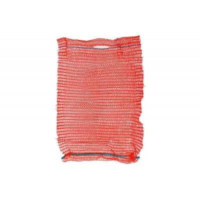 Сетка для овощей до 10 кг 30*47 красная,  100 шт/ упак
