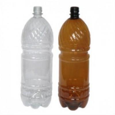 Бутылка ПЭТ 2 л. прозрачная с крышкой 45 шт/упак