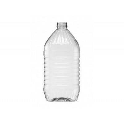 Бутылка ПЭТ 4,3 л. прозрачная  с крышкой