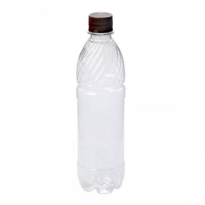 Бутылка ПЭТ 0,5 л. с крышкой  100 шт/упак