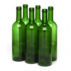 """Бутылка 0,75 л.  """"Бордо - Wine - 2""""  зеленый"""