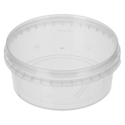 Банка пластиковая 385 мл, d-122, 600 шт/ кор
